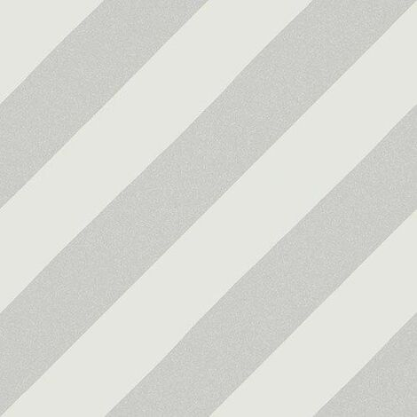 Carreau style ciment rayure grise 20x20 cm GOROKA GRIS - 1m²