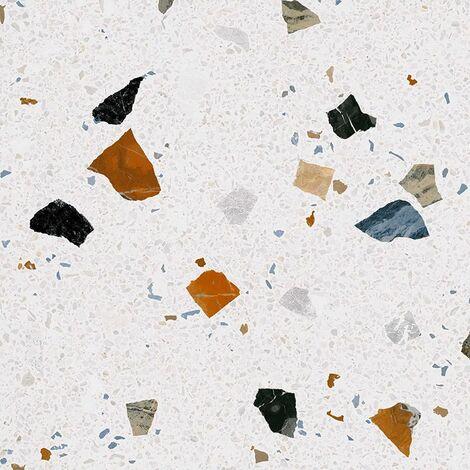 Carreau style granito coloré 80x80 cm STRACCIATELLA-R Nacar - 1.28m²