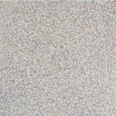 Carreau terrazzo véritable pleine masse Gris 40x40 cm ref PP19 - 0.80m²