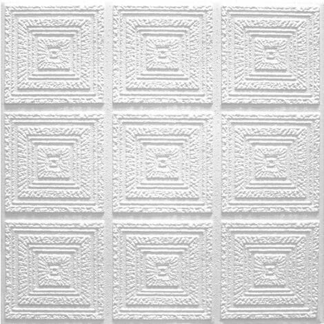 Carreaux plafond   EPS   formfest   Marbet   50x50cm   Plafon