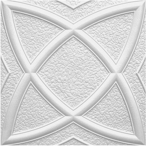 Carreaux plafond   EPS   rigide   Marbet   50x50cm   Mars