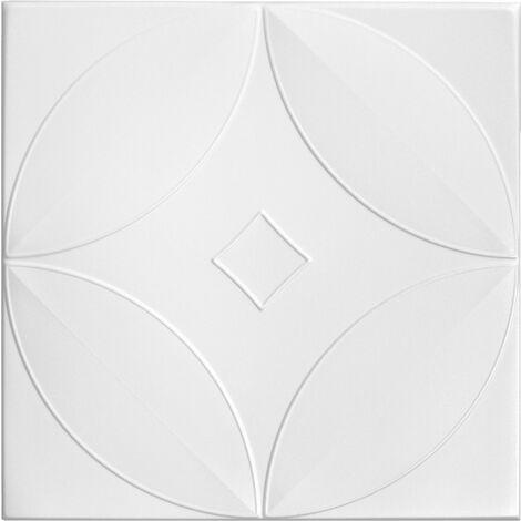 Carreaux plafond   XPS   formfest   Hexim   50x50cm   No.63