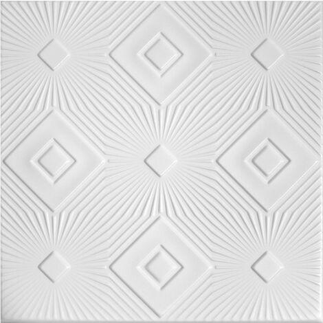 Carreaux plafond | XPS | formfest | Hexim | 50x50cm | No.83