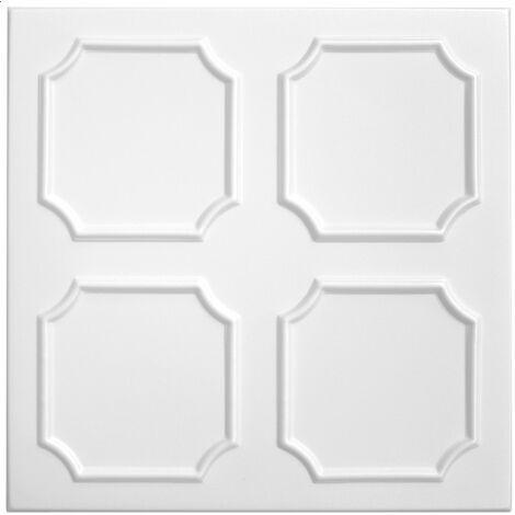 Carreaux plafond   XPS   formfest   Hexim   50x50cm   Nr.01