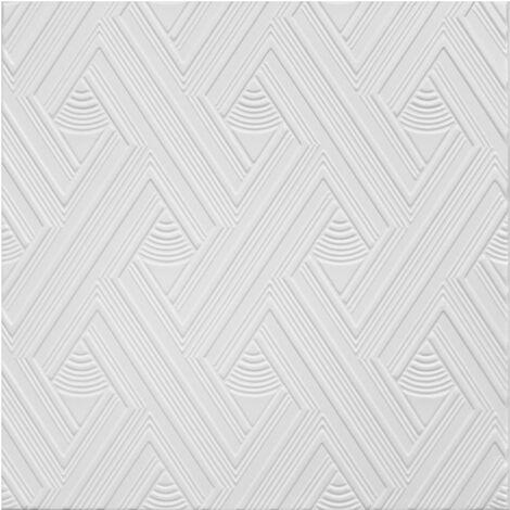 Carreaux plafond   XPS   formfest   Hexim   50x50cm   Nr.109