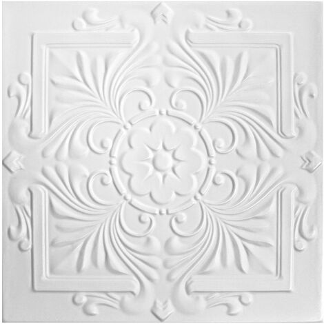 Carreaux plafond | XPS | formfest | Hexim | 50x50cm | Nr.111