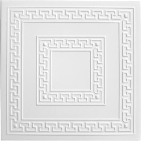 Carreaux plafond   XPS   formfest   Hexim   50x50cm   Nr.23