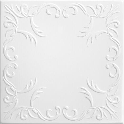 Carreaux plafond | XPS | formfest | Hexim | 50x50cm | Nr.30