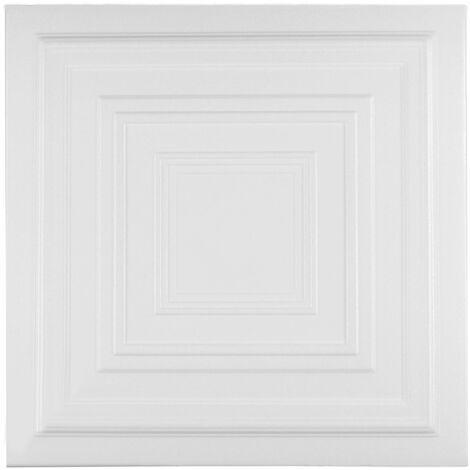 Carreaux plafond   XPS   formfest   Hexim   50x50cm   Nr.31