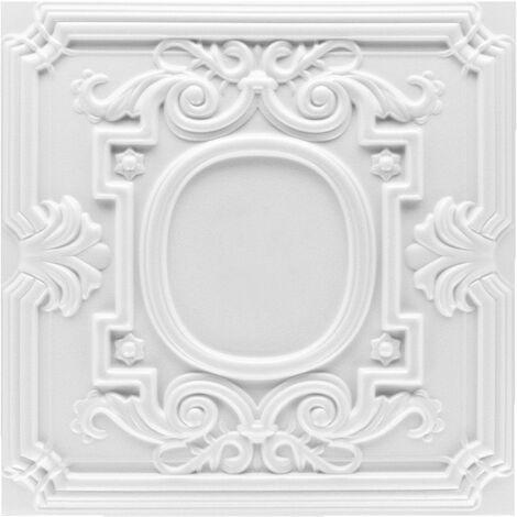 Carreaux plafond   XPS   formfest   Hexim   50x50cm   Nr.35