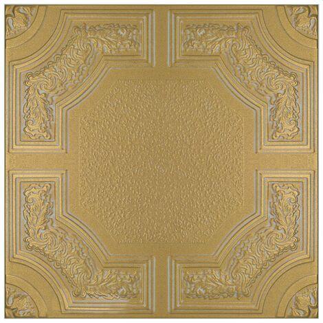 Carreaux plafond   XPS   formfest   Hexim   50x50cm   Nr.74 S-Z