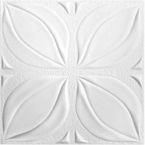 Carreaux plafond | XPS | rigide | Hexim | 50x50cm | No.113