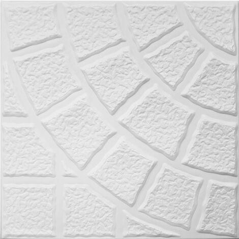 Carreaux plafond | XPS | rigide | Hexim | 50x50cm | No.115
