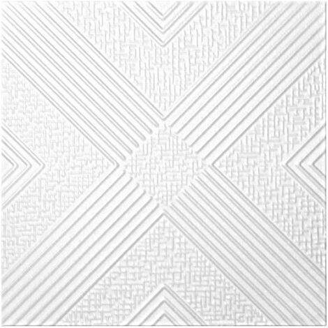 Carreaux plafond | XPS | rigide | Hexim | 50x50cm | NR.73