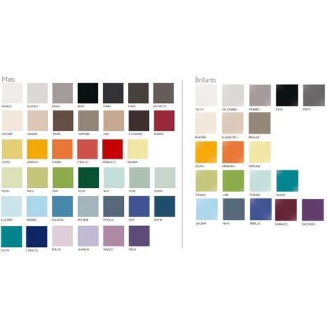 Carrelage 20x20 blanc octogone avec cabochons CERAME MAT - 1.5m² | BRILLANT navy