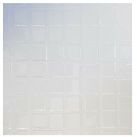 Carrelage Adhésif 3D Carreaux Blanc