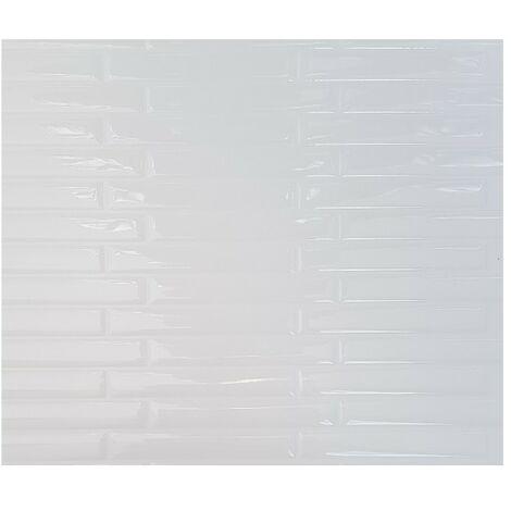 Carrelage Adhésif 3D Listel Blanc