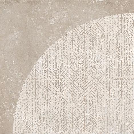 Carrelage ANTIDÉRAPANT imitation ciment décor beige 20x20cm URBAN ARCO NATURAL 23589 - 1m²