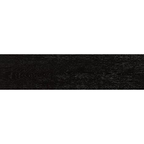 Carrelage ARHUS noir imitation parquet style chevron rectifié 14.4x89 - 1.29m²