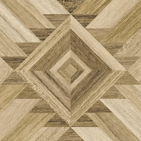 Carrelage aspect bois décoré - KOMI BERBAK-R 20X20 - 1m²