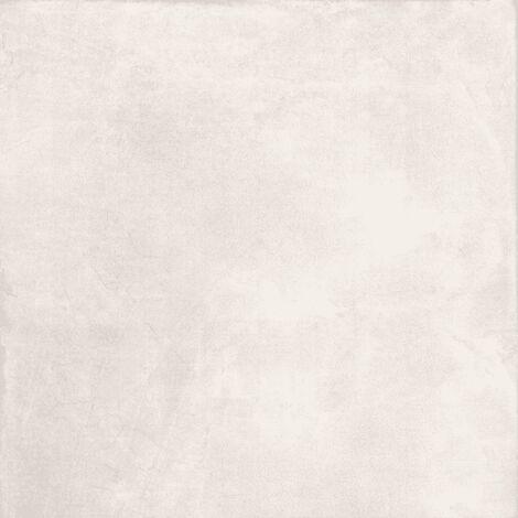 Carrelage Caelum Concrete White 60x60cm - vendu par lot de 1.44 m² - Blanc