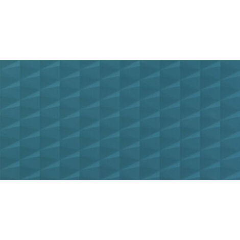 Carrelage Carina Royal Blue 3D Galaxy 80x40cm - vendu par lot de 1.28 m² - Bleu