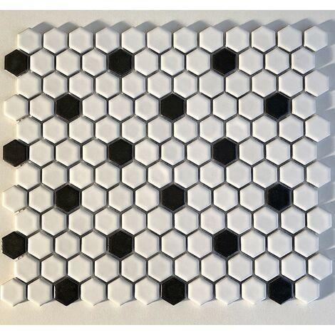 carrelage ceramique hexagon mosaique mur et sol mp-daven