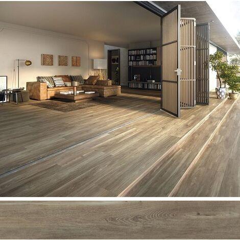 Carrelage extérieur effet bois 20x160 BELFAST WALNUT ANTIDERAPANT R11 - 1.28 m²