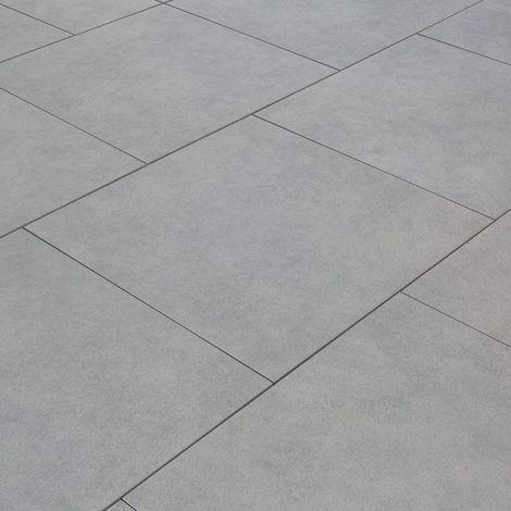 Carrelage exterieur spécial plots terrasse - 60 X 60 cm - Gris Grey Sone