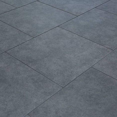 Carrelage exterieur spécial plots terrasse - 60 X 60 cm - Gris Pierre Bleue