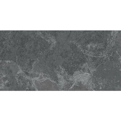 Carrelage grès cérame aspect pierre LAIA BASALTO 29,3x59,3 - 1,04 m²