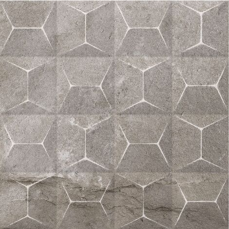Carrelage grès cérame aux décors multiples aspect pierre LAIA LENAR BEIGE 29,3x29,3 - 0,94 m²