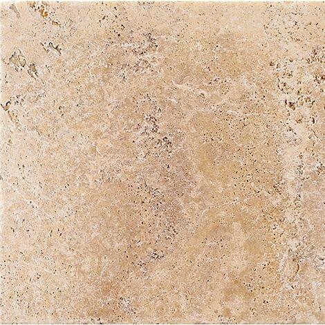 """main image of """"Carrelage grès cérame en plusieurs tailles rectifié effet pierre AUSTRAL BEIGE - 0,75m²"""""""