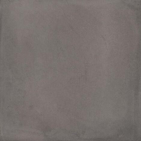 Carrelage gris anthracite mat 80x80cm LAVERTON-R GRAFITO - 1.28m²