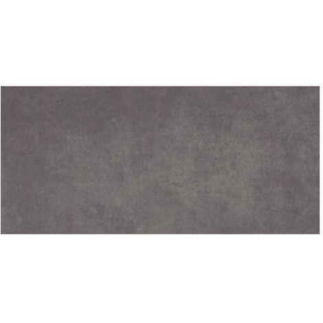 Carrelage gris foncé rectifié 45x90cm RUHR-R PLOMO - 1.19m²