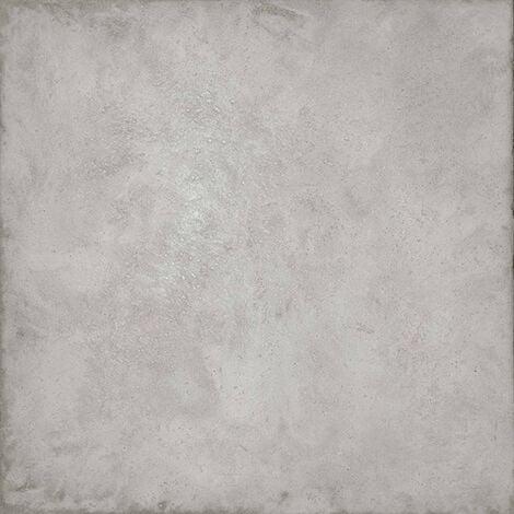 Carrelage gris patiné cemento 80x80 cm mat rectifié RIFT - 1.28m²