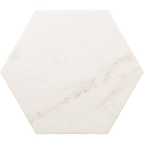 Carrelage hexagonal 17,5x20 HEXAGON CARRARA MATT - 0.71m²