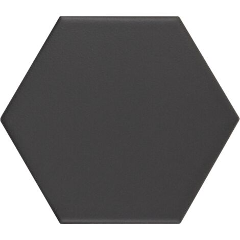Carrelage hexagonal KROMATIKA black 11.6x10.1 - 26467 - 0.43 m²