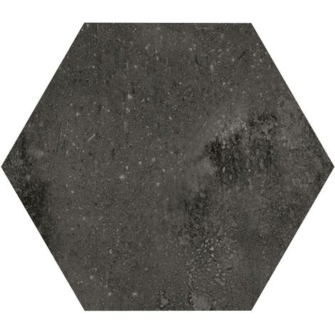 Carrelage hexagonal noir 29.2x25.4cm URBAN HEXAGON DARK 23515 R9 - 1m²