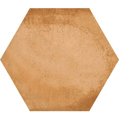 Carrelage hexagonal tomette décor 23x26.6cm BAMPTON Natural - 0.50m²