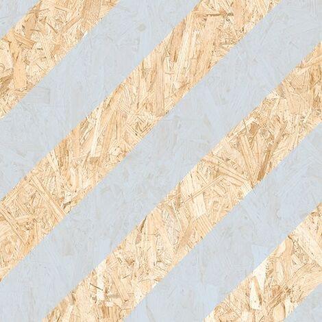 Carrelage imitation bois aggloméré NENETS Azul 59.3X59.3 cm - 1.06 m²