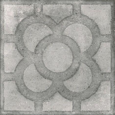 Carrelage imitation ciment 20x20 cm ACORN Cemento anti-derapant R13 - 1m²