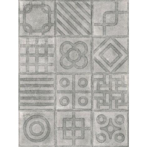 Carrelage imitation ciment 20x20 cm Paulista Cemento anti-derapant R13 - 1m²
