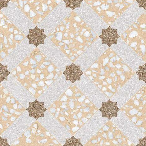 Carrelage imitation ciment 30x30 cm Mancini Beige anti-dérapant R10 - 0