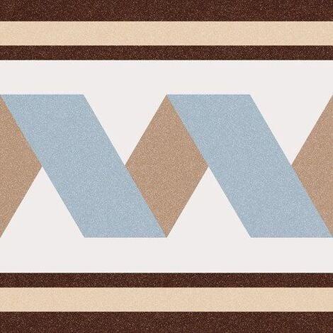Carrelage imitation ciment bleu beige 20x20 cm FLORENTINA-2 - 1m²