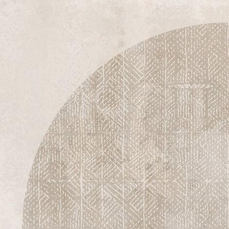Carrelage imitation ciment décor beige 20x20cm URBAN ARCO NATURAL 23585 - 1m²