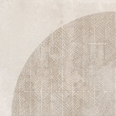Carrelage imitation ciment décor beige 20x20cm URBAN ARCO NATURAL 23585 R9 - 1m²