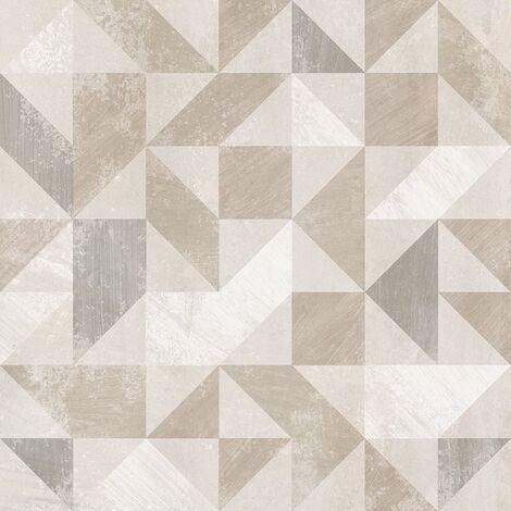 Carrelage imitation ciment décor beige 20x20cm URBAN FOREST NATURAL 23614 R9 - 1m²