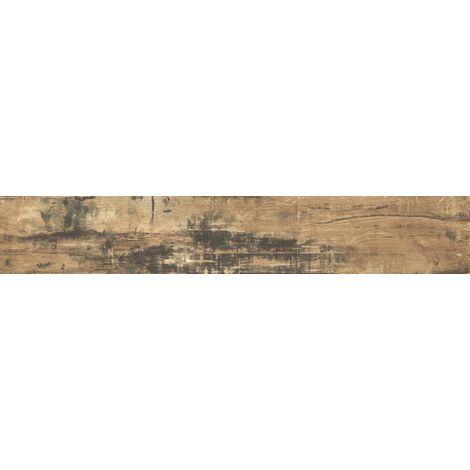 Carrelage imitation parquet rectifié style vintage ELBRUS 17.5x50 cm – 1.31m²