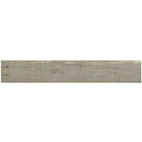Carrelage imitation parquet rectifié vieilli mat 20x160 WISCONSIN ASH - 1.28m²